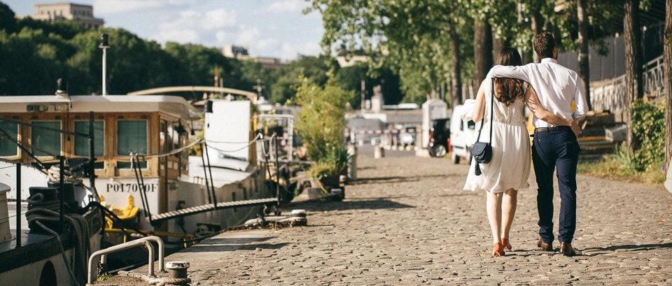 Engagement à Paris   Maxime Decarsin Photographe