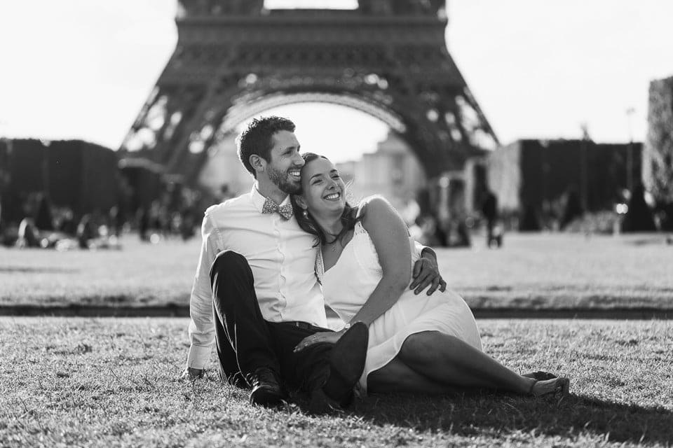 Engagement à Paris